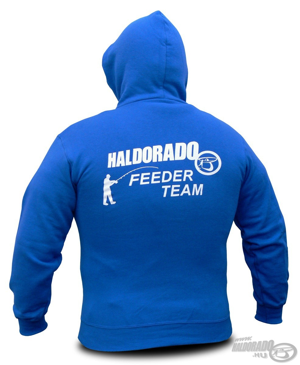 HALDORÁDÓ, Feeder, Team, kapucnis, pulcsi, 5990Ft