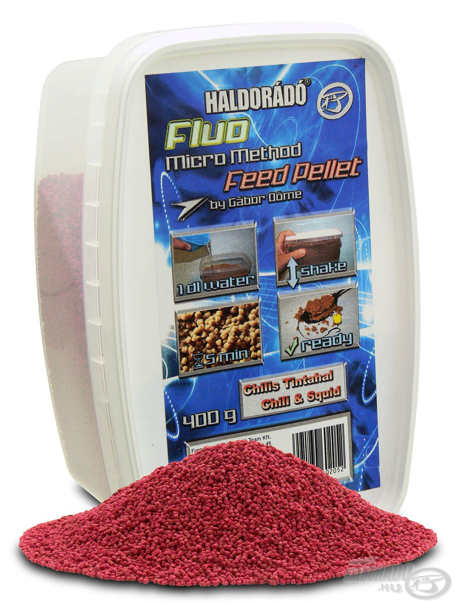 HALDOR�D�, Fluo Micro Method Feed Pellet - Chilis Tintahal