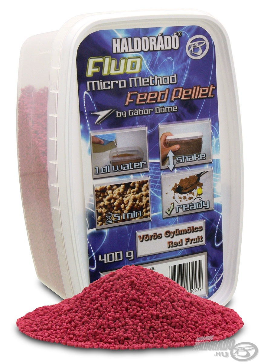 HALDOR�D�, |, Fluo, Micro, Method, Feed, Pellet, 1690Ft