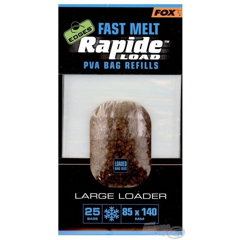 FOX Rapide PVA tasak gyors oldódású 85x140 mm