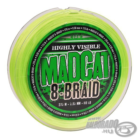 MAD CAT G2 8 Braid - 270 m 11990Ft