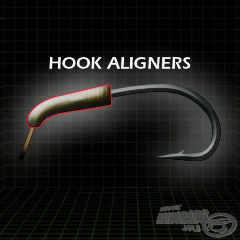 GARDNER Covert Hook Aligner Large Green