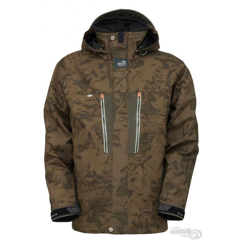 Geoff Anderson Dozer6 vízálló dzseki Leaf XXL