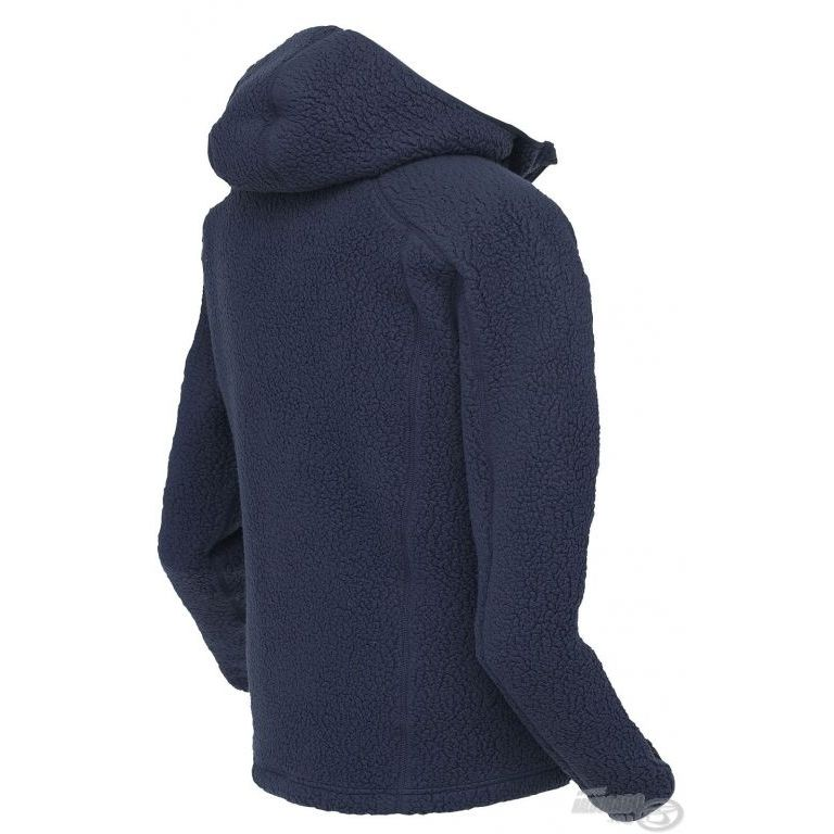 Geoff Anderson Teddy kapucnis kabát kék XXL