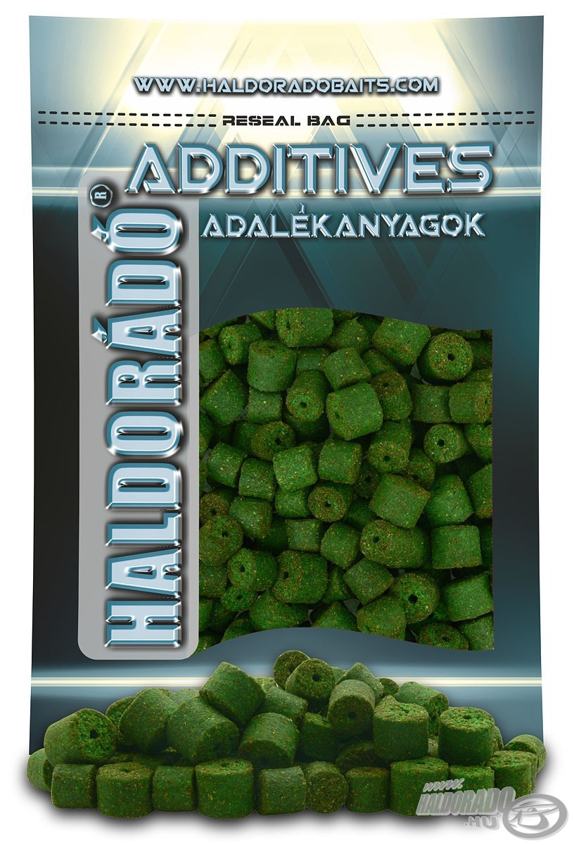 HALDOR�D�, |, Green, Halibut, Pellet, 0,8, kg, /, 12-16, mm 990Ft