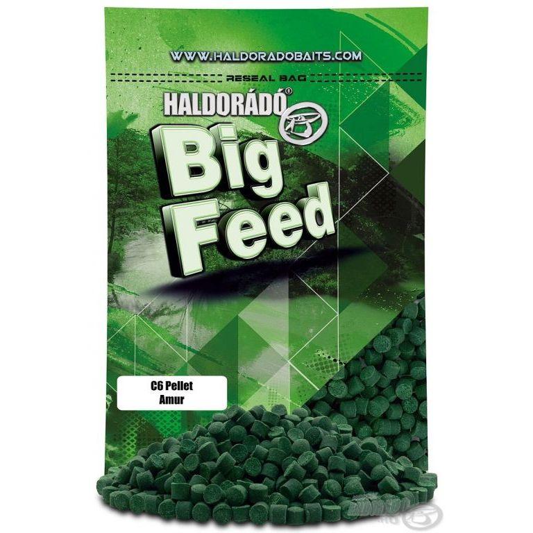 HALDORÁDÓ Big Feed - C6 Pellet - Amur 800 g