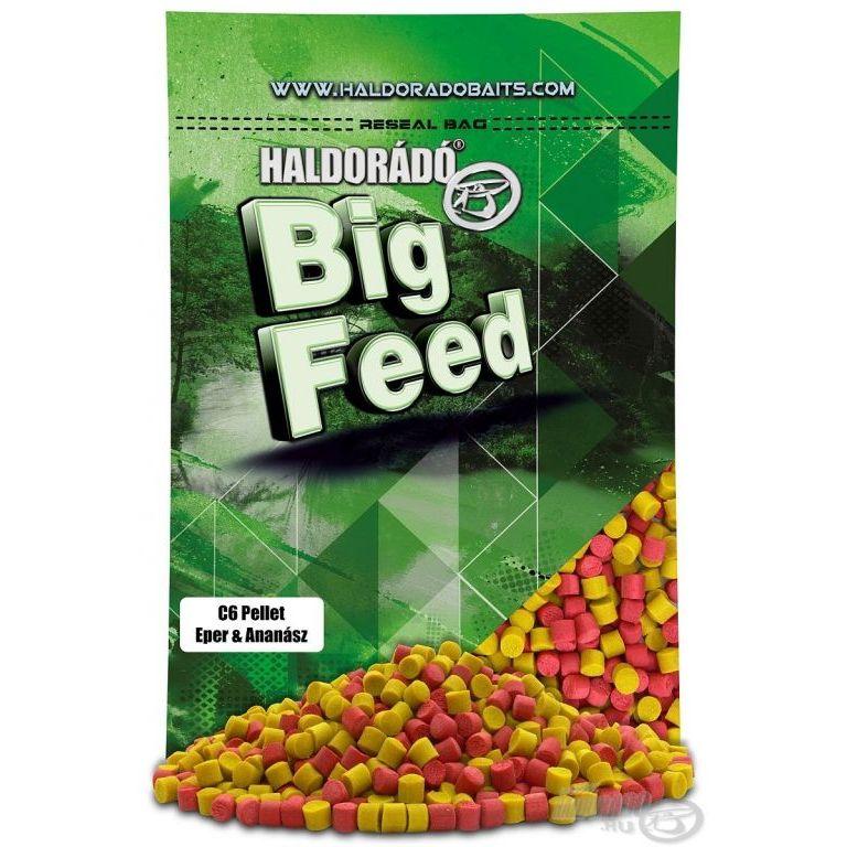 HALDORÁDÓ Big Feed - C6 Pellet - Eper & Ananász 900 g