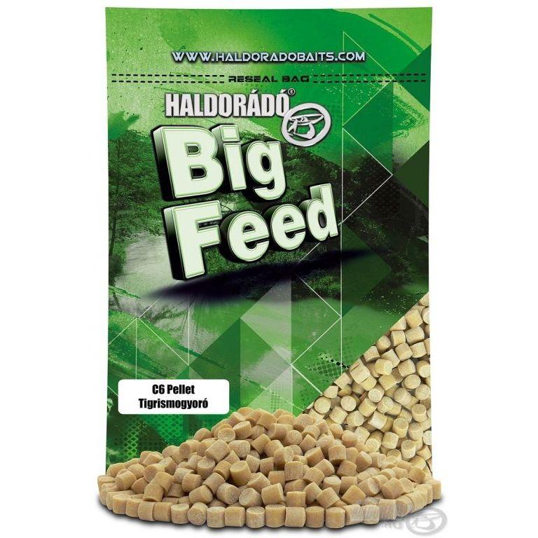 HALDORÁDÓ Big Feed - C6 Pellet - Tigrismogyoró 800 g