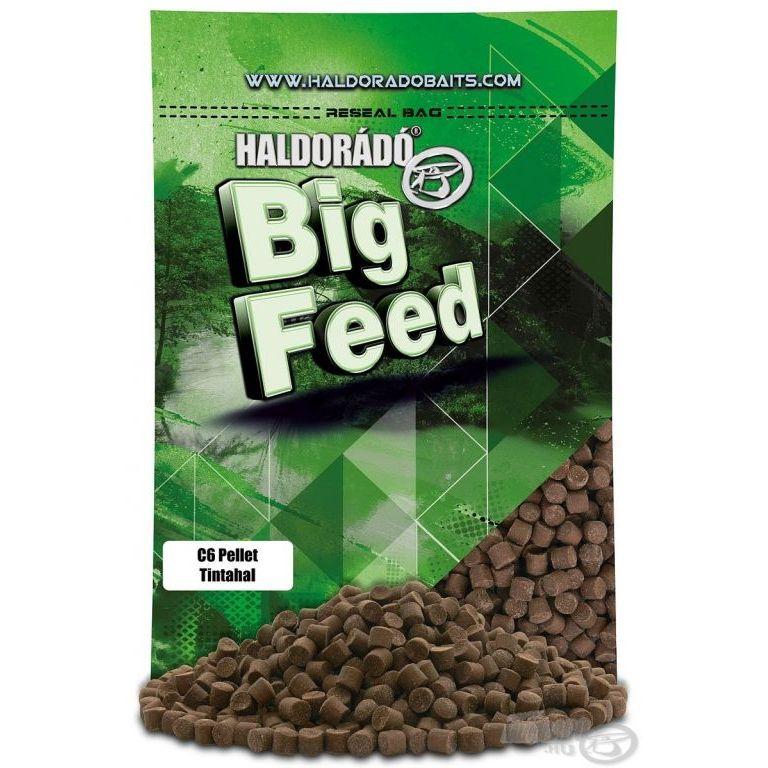 HALDORÁDÓ Big Feed - C6 Pellet - Tintahal 800 g