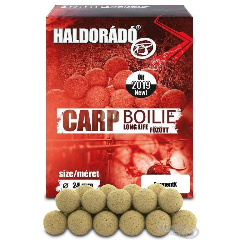 HALDORÁDÓ Carp Boilie főzött - FermentX 24 mm ÚJ 2019