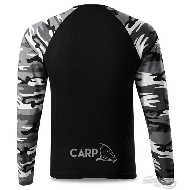 HALDORÁDÓ Carp Team Camouflage hosszú ujjú póló XL