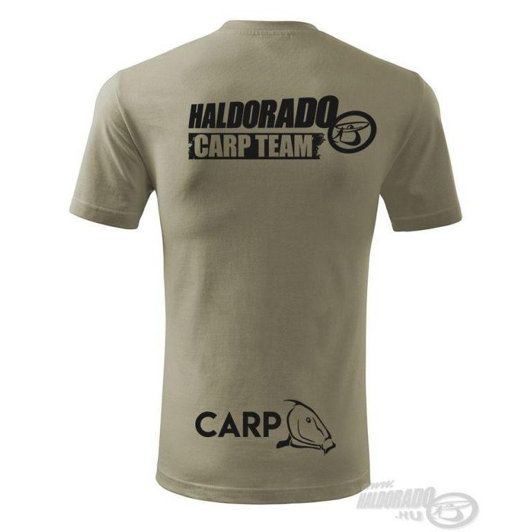 HALDORÁDÓ Carp Team Classic környakas póló XL