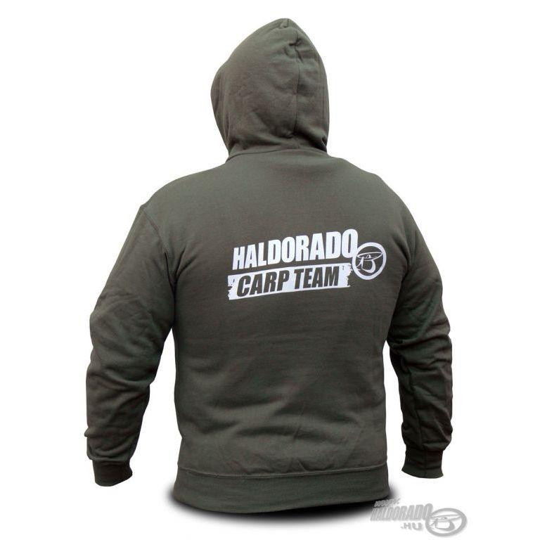 HALDORÁDÓ Carp Team kapucnis pulcsi M