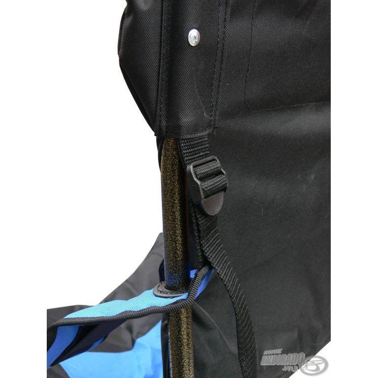HALDORÁDÓ Comfort Plusz fotel szürke-kék