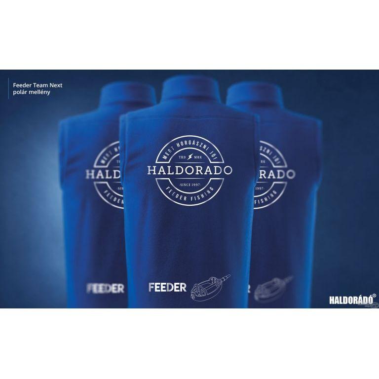 HALDORÁDÓ Feeder Team Next polár mellény XL