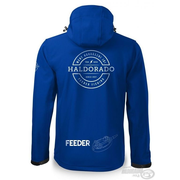 HALDORÁDÓ Feeder Team Softshell Performance kabát L