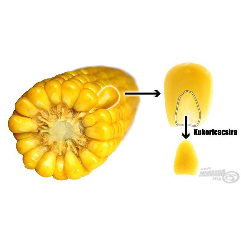 HALDORÁDÓ Hidegen sajtolt kukoricacsíra pellet