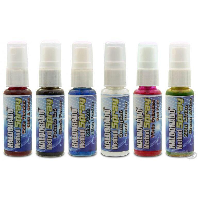 HALDORÁDÓ Method Spray - MIX-6 / 6 íz egy dobozban