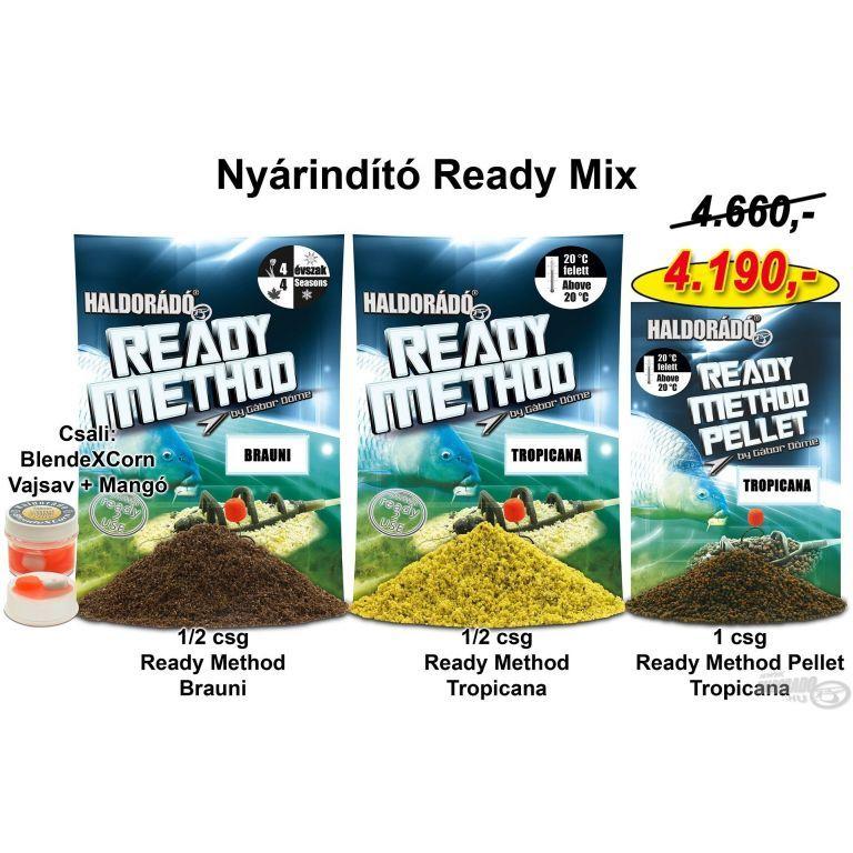 HALDORÁDÓ Nyári recept 1 - Nyárindító Ready Mix