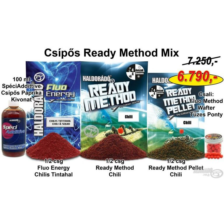 HALDORÁDÓ Nyári recept 11 - Csípős Ready Method Mix