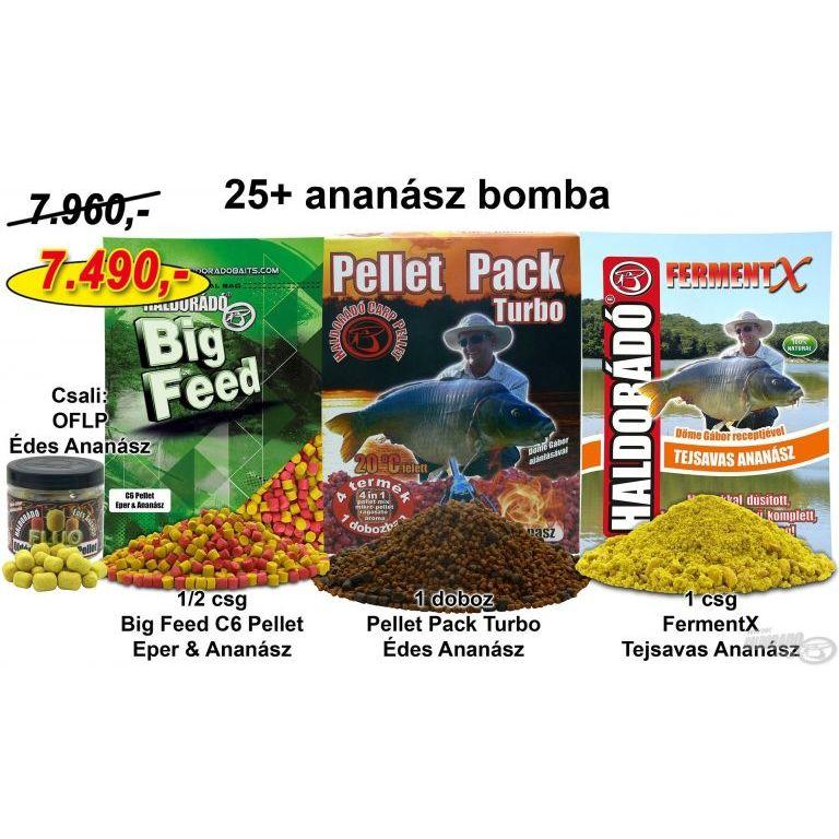 HALDORÁDÓ Nyári recept 12 - 25+ ananász bomba