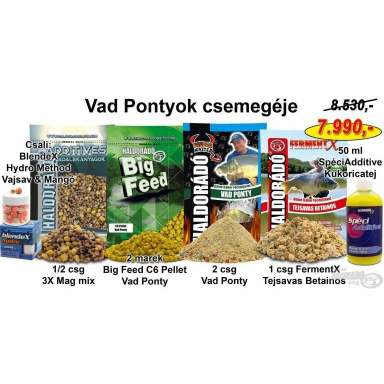 HALDORÁDÓ Nyári recept 4 - Vad Pontyok csemegéje