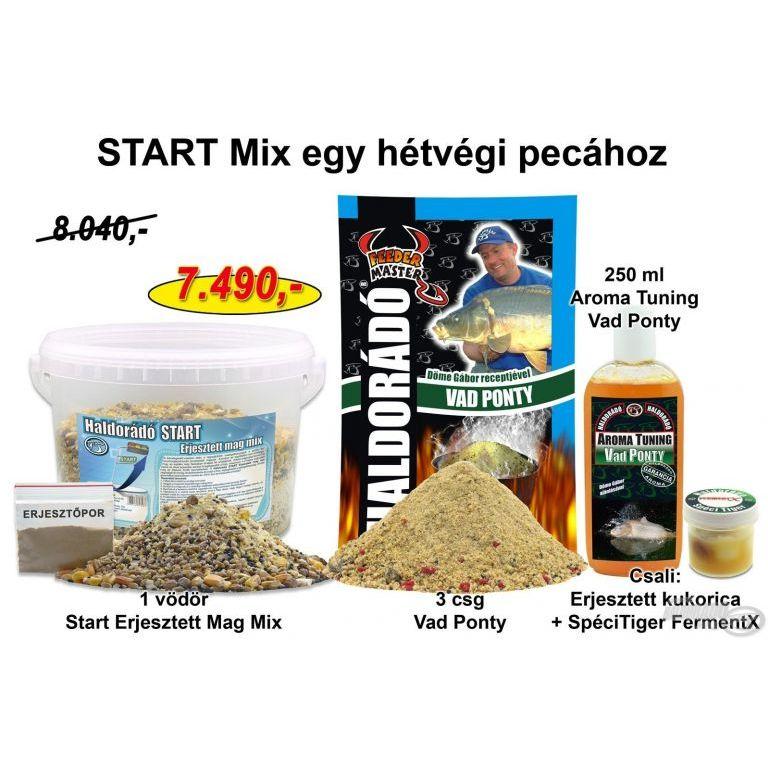 HALDORÁDÓ Nyári recept 5 - START Mix egy hétvégi pecához