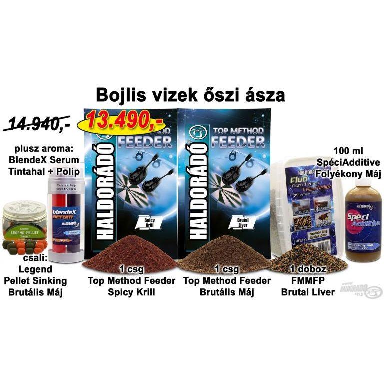 HALDORÁDÓ Őszi recept 10 - Bojlis vizek őszi ásza