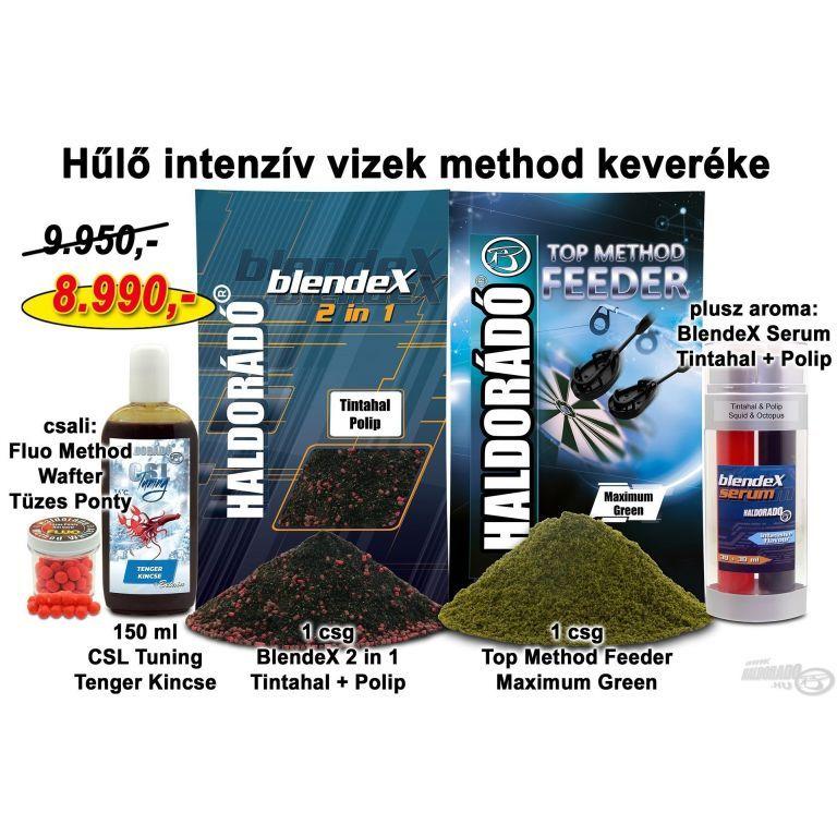 HALDORÁDÓ Őszi recept 11 - Hűlő intenzív vizek method keveréke