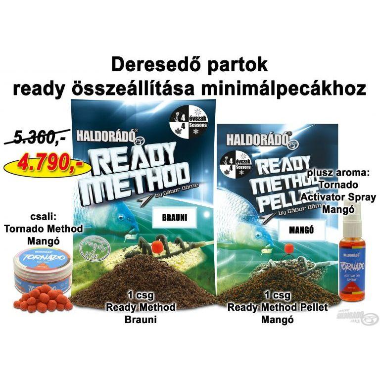 HALDORÁDÓ Őszi recept 13 - Deresedő partok ready összeállítása minimálpecákhoz
