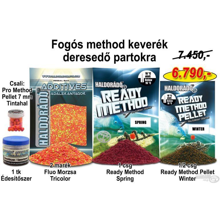 HALDORÁDÓ Őszi recept 13 - Fogós method keverék deresedő partokra