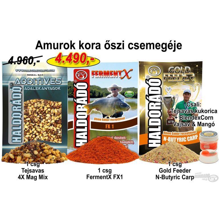 HALDORÁDÓ Őszi recept 2 - Amurok kora őszi csemegéje