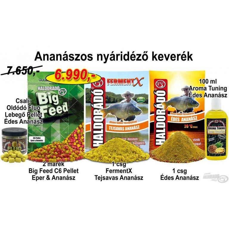 HALDORÁDÓ Őszi recept 3 - Ananászos nyáridéző keverék