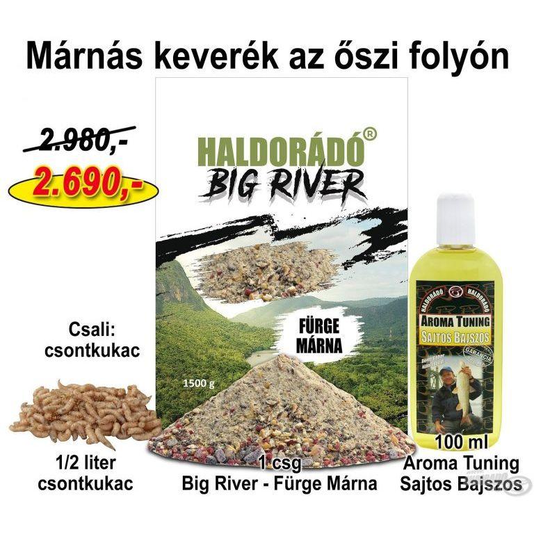 HALDORÁDÓ Őszi recept 6 - Márnás keverék az őszi folyón