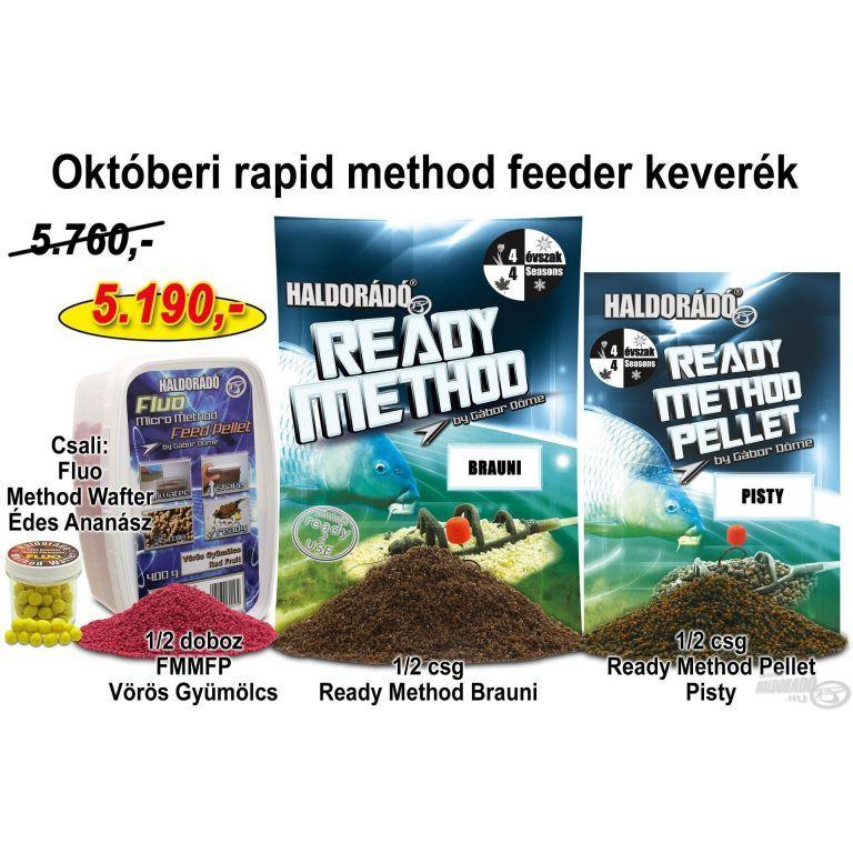 HALDORÁDÓ Őszi recept 7 - Októberi rapid method feeder keverék