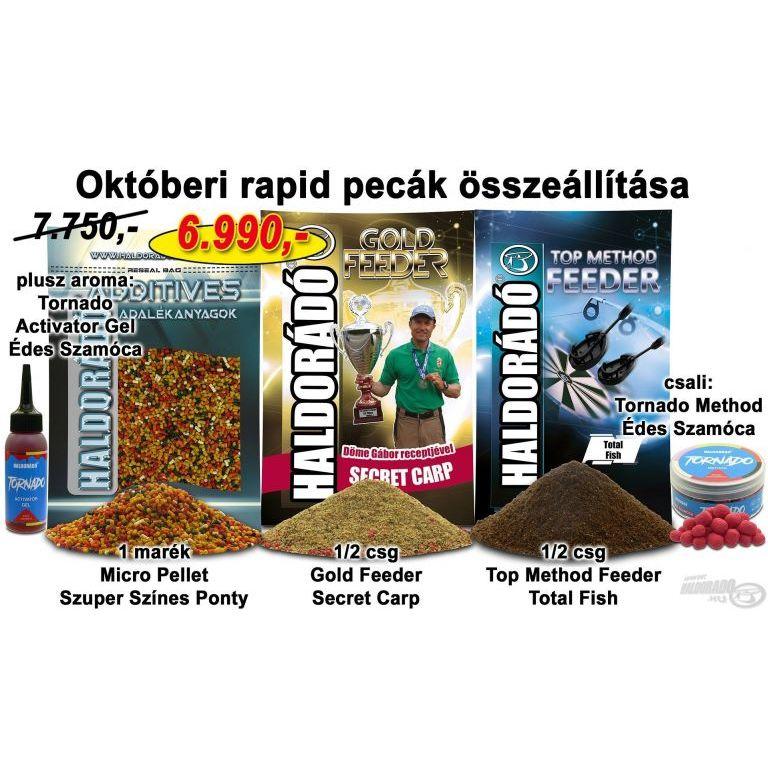HALDORÁDÓ Őszi recept 7 - Októberi rapid pecák összeállítása