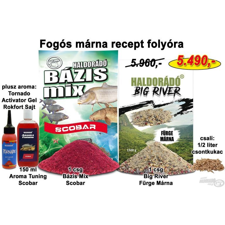 HALDORÁDÓ Őszi recept 8 - Fogós márna recept folyóra