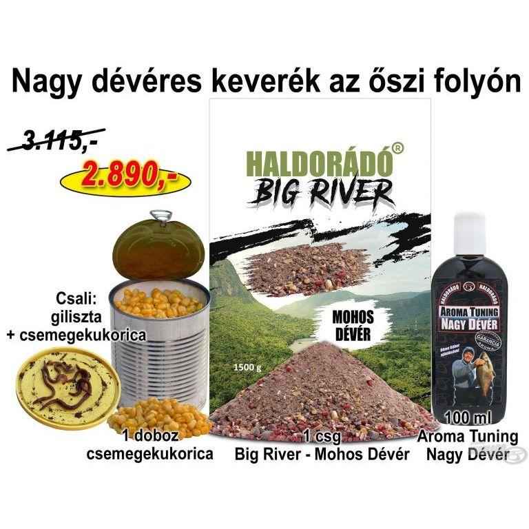 HALDORÁDÓ Őszi recept 8 - Nagy dévéres keverék az őszi folyón