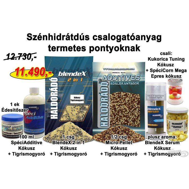 HALDORÁDÓ Őszi recept 9 - Szénhidrátdús csalogatóanyag termetes pontyoknak