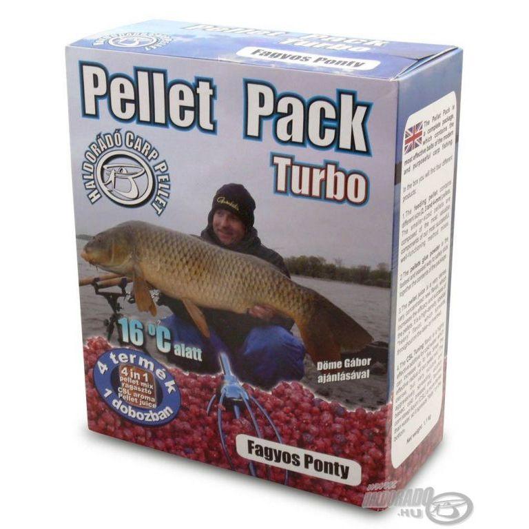 HALDORÁDÓ Pellet Pack Turbo - Fagyos Ponty
