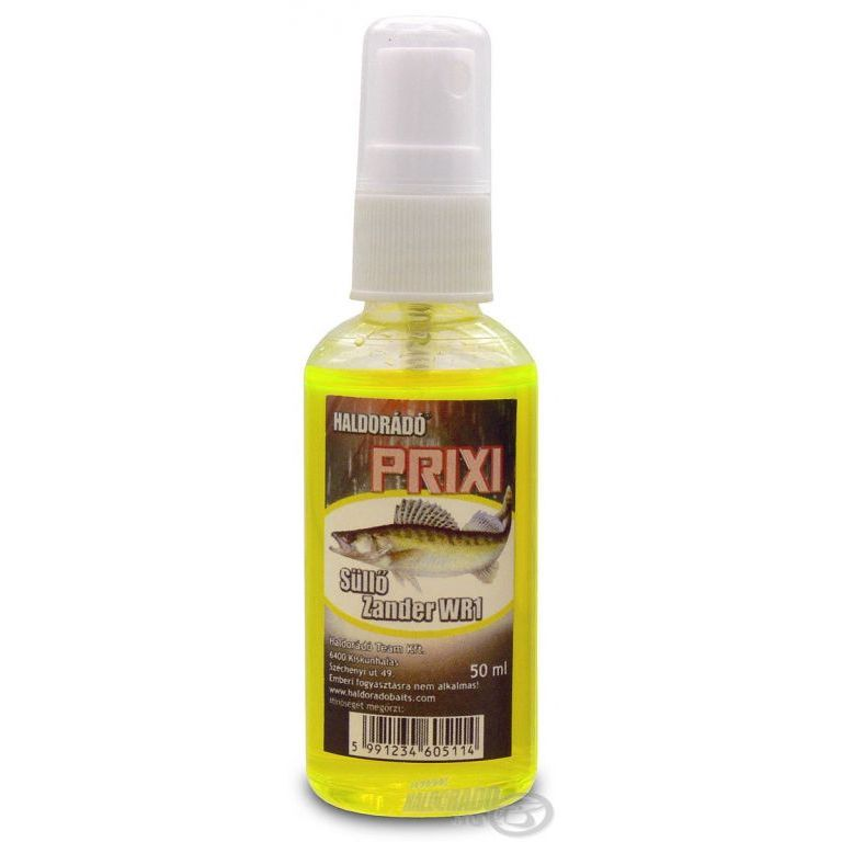 HALDORÁDÓ PRIXI ragadozó aroma spray - Süllő / Walleye WR1