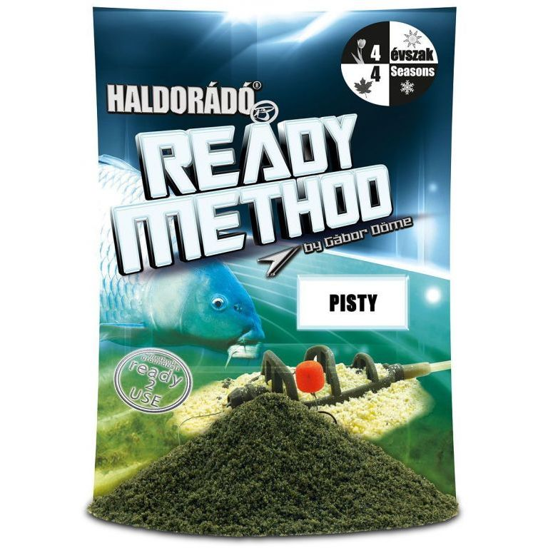 HALDORÁDÓ Ready Method - Pisty