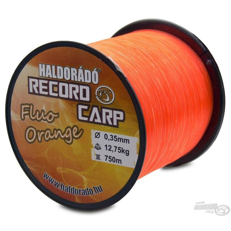 HALDORÁDÓ Record Carp Fluo Orange 0,20 mm / 900 m