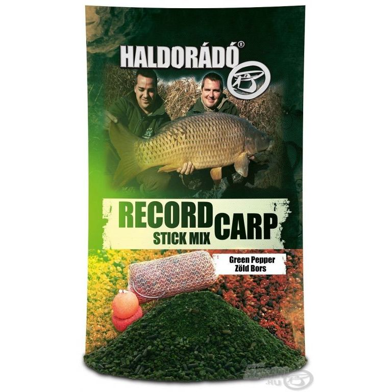HALDORÁDÓ Record Carp Stick Mix - Zöld Bors