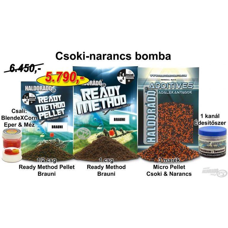 HALDORÁDÓ Tavaszi recept 11 - Csoki-narancs bomba