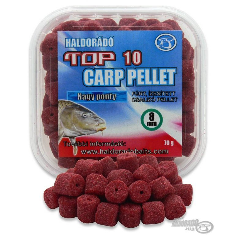 HALDORÁDÓ TOP 10 Carp Pellet - Nagy Ponty