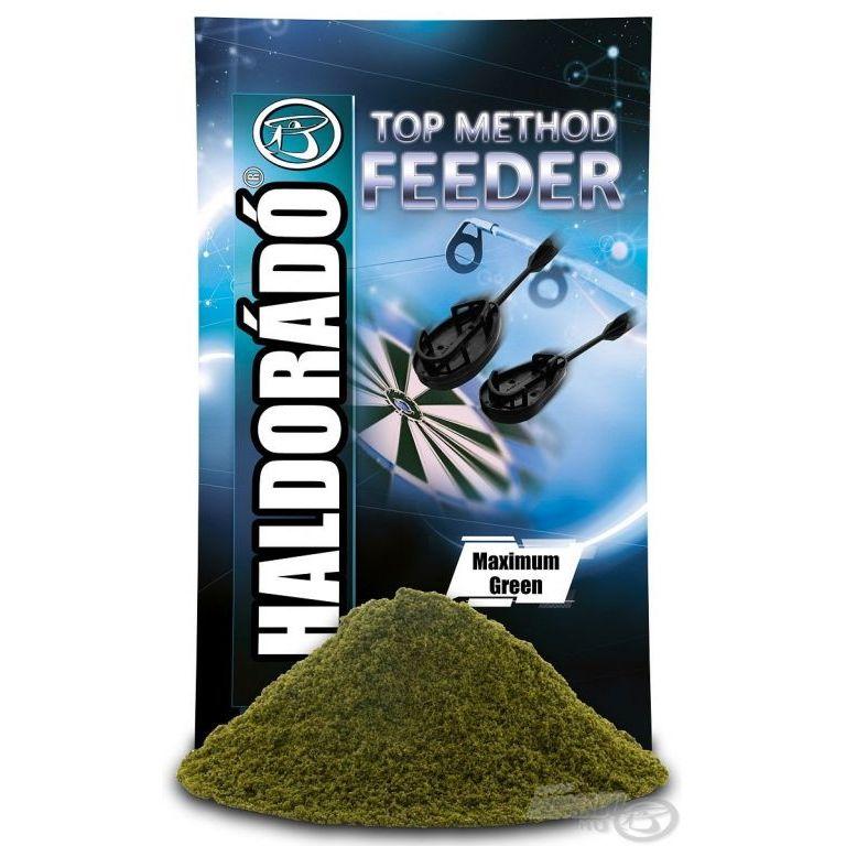HALDORÁDÓ TOP Method Feeder - Maximum Green