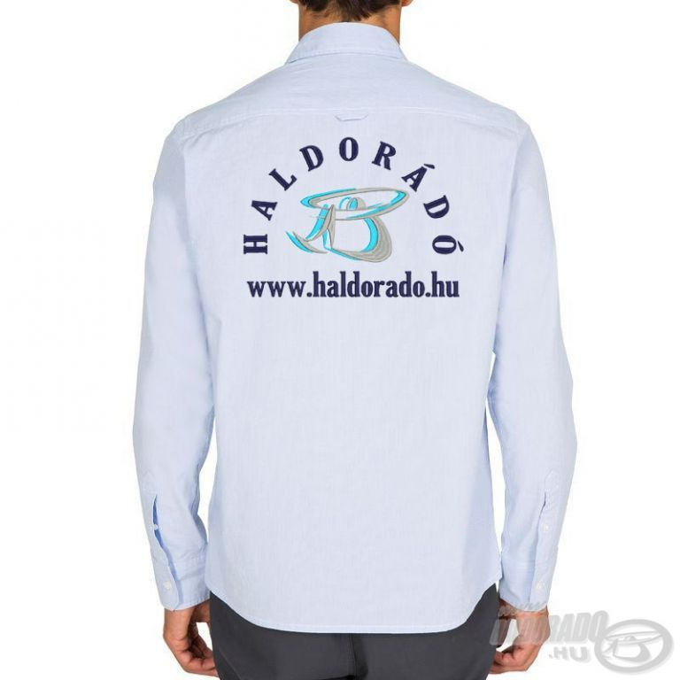 HALDORÁDÓ TRIBORD UPF 40+ UV szűrős ing világoskék L