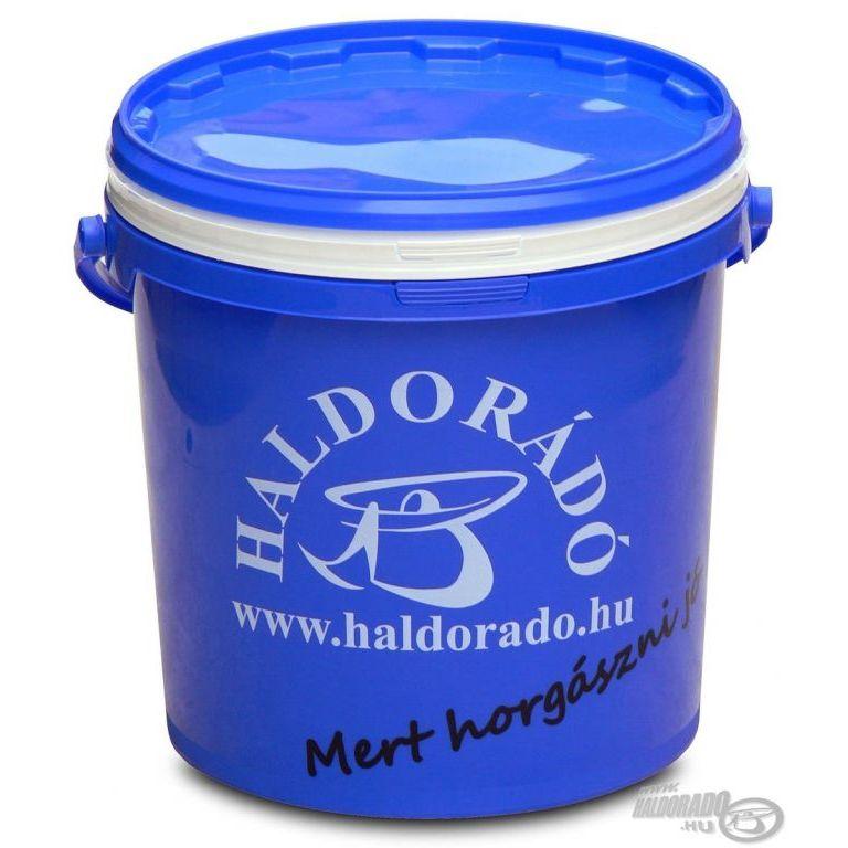 HALDORÁDÓ Vödör csalizó tálcával 10 L