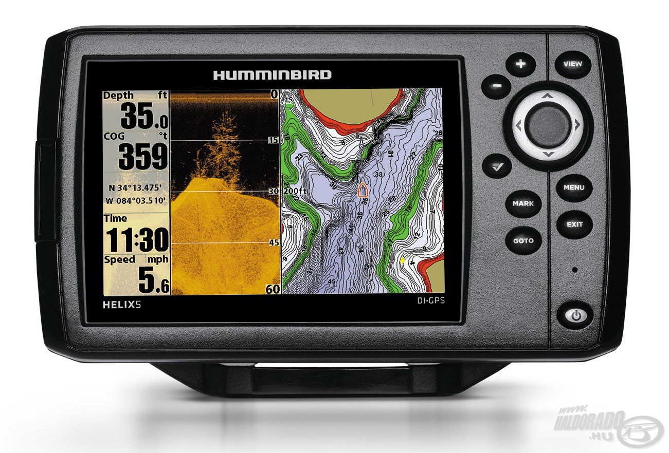 HUMMINBIRD, Helix, 5, DI, GPS, 169990Ft
